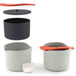 M-Cuisine microwave rice cooker - Stone/Orange
